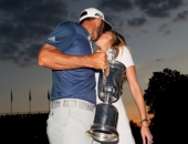 Dustin Johnson a Paulina Gretzky