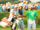 Lee Westwood a Dustin Johnson