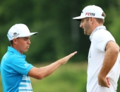 Rickie Fowler a Dustin Johnson
