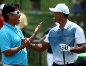 Notah Begay III a Tiger Woods