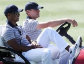 Tiger Woods a Steve Stricker