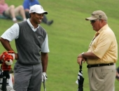 Tiger Woods a Butch Harmon