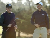 Dustin Johnson a Wayne Gretzky