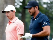 Rory McIlroy a Jason Day