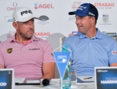 Lee Westwood a Padraig Harrington