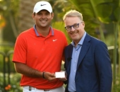 Patrick Reed a Keith Pelley