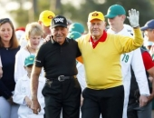 Jack Nicklaus a Gary Player
