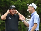 Phil Mickelson a Justin Thomas