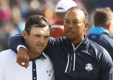 Patrick Reed a Tiger Woods
