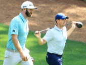 Rory McIlroy a Dustin Johnson
