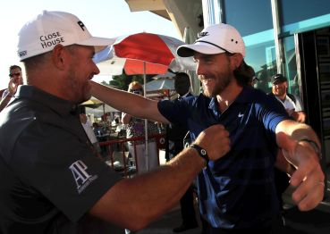 Lee Westwood a Tommy Fleetwood