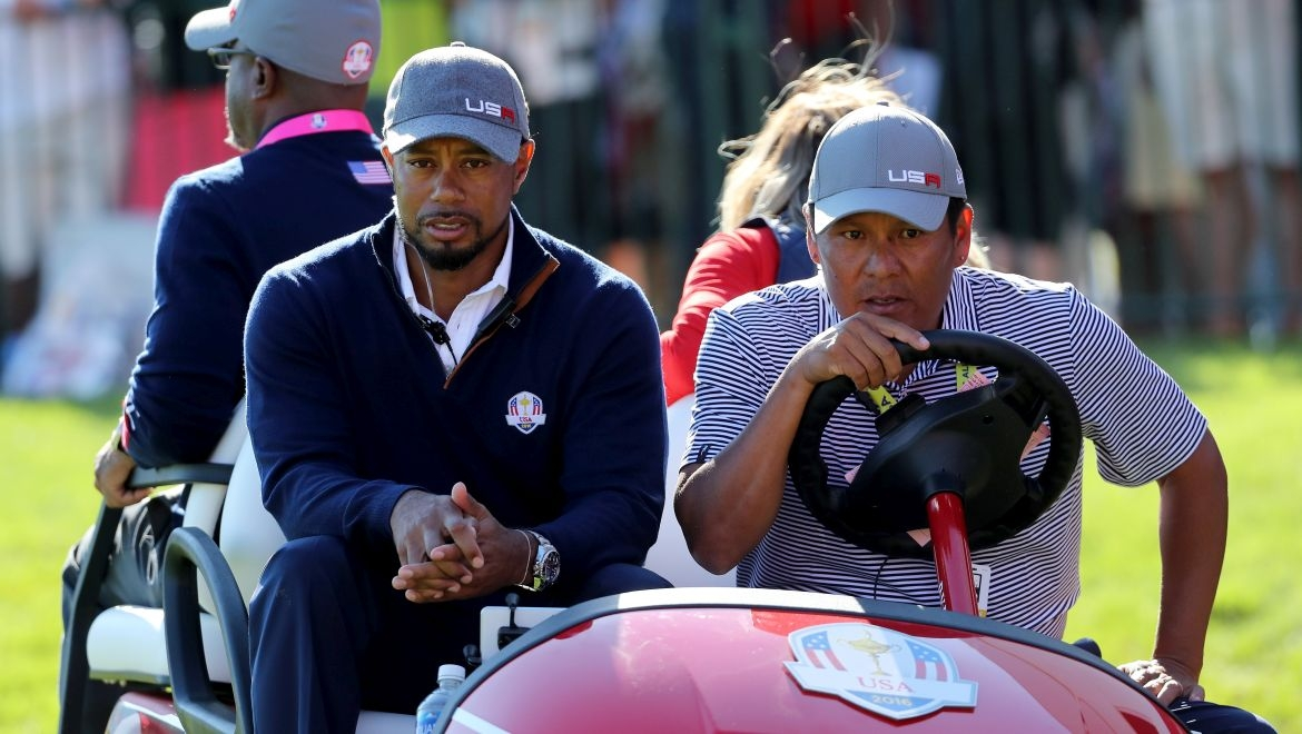 Tiger Woods a Notah Begay III