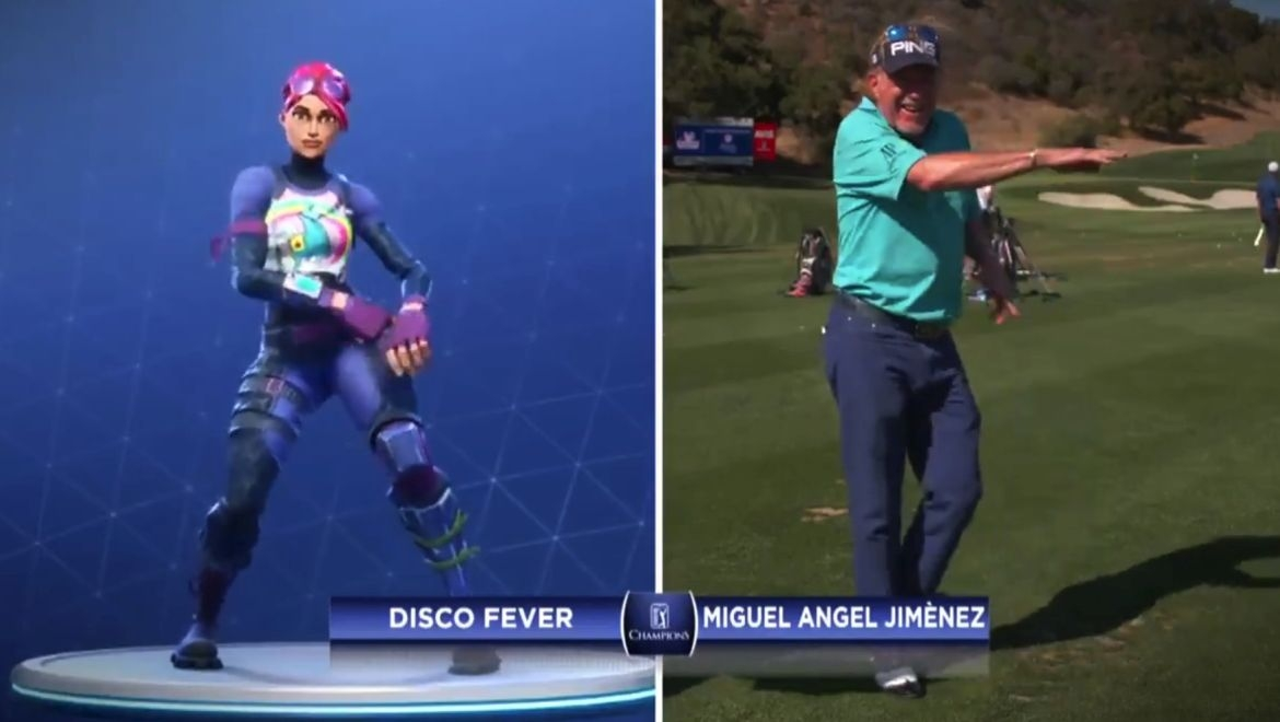 Miguel Angel Jimenez a Fortnite