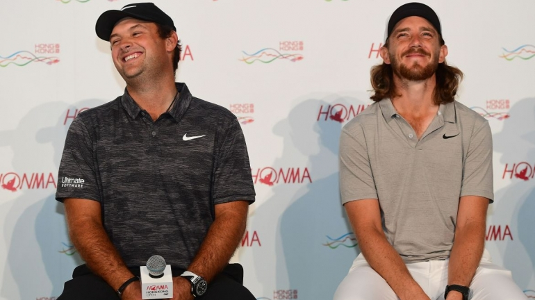 Patrick Reed a Tommy Fleetwood