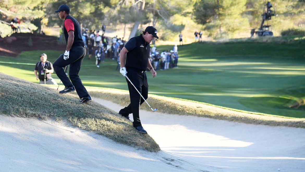 Tiger Woods a Phil Mickelson