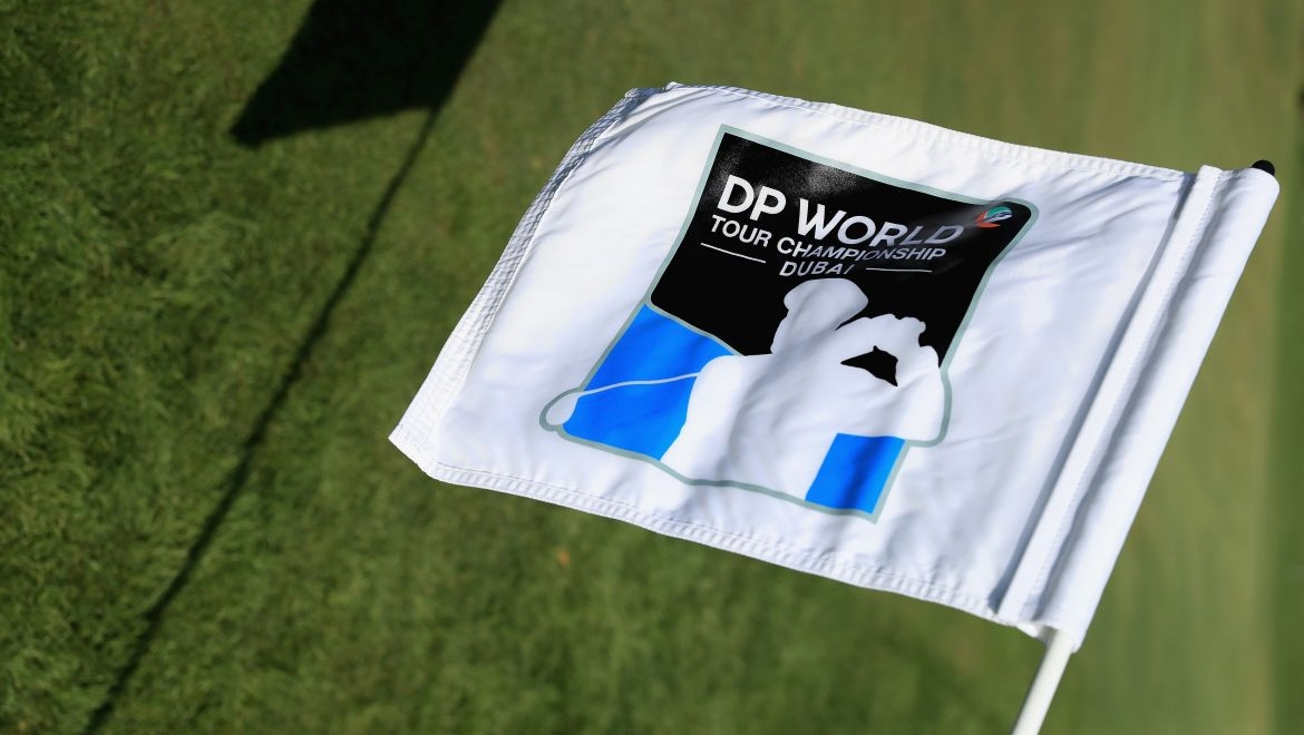 DP World Tour Championship flag