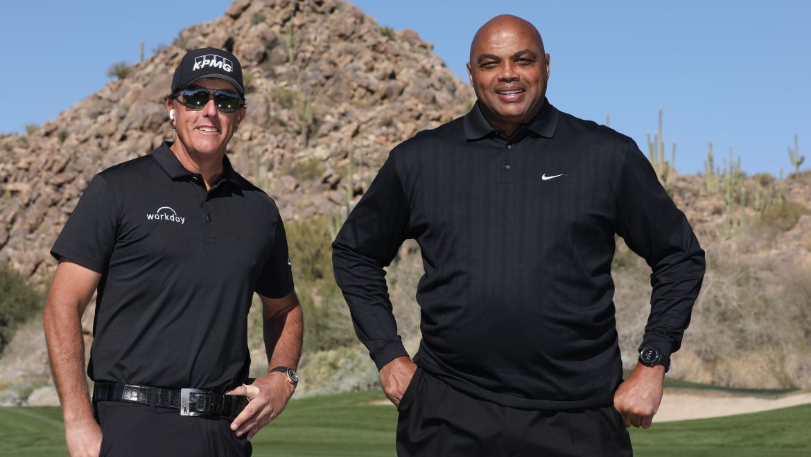 Mickelson a Barkley