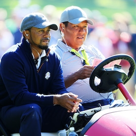 Tiger Woods a Notah Begay