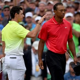 Rory McIlroy a Tiger Woods