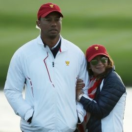 Erica Herman a Tiger Woods