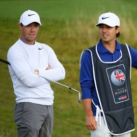 Rory McIlroy a Harry Diamond