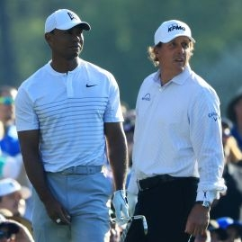 Woods a Mickelson