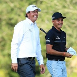 Phil Mickelson a Rickie Fowler na The Players
