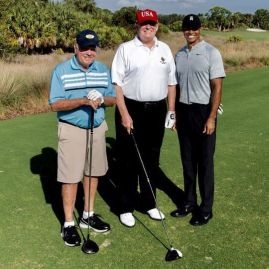 Trump, Woods, Nicklaus
