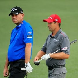 Thomas Bjorn a Padraig Harrington
