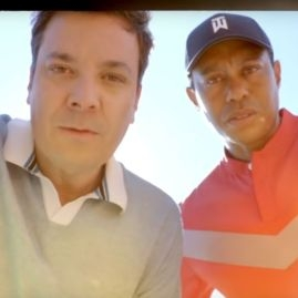Tiger Woods a Jimmy Fallon