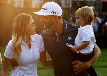 Dustin Johnson, Paulina Gretzky a Tatum